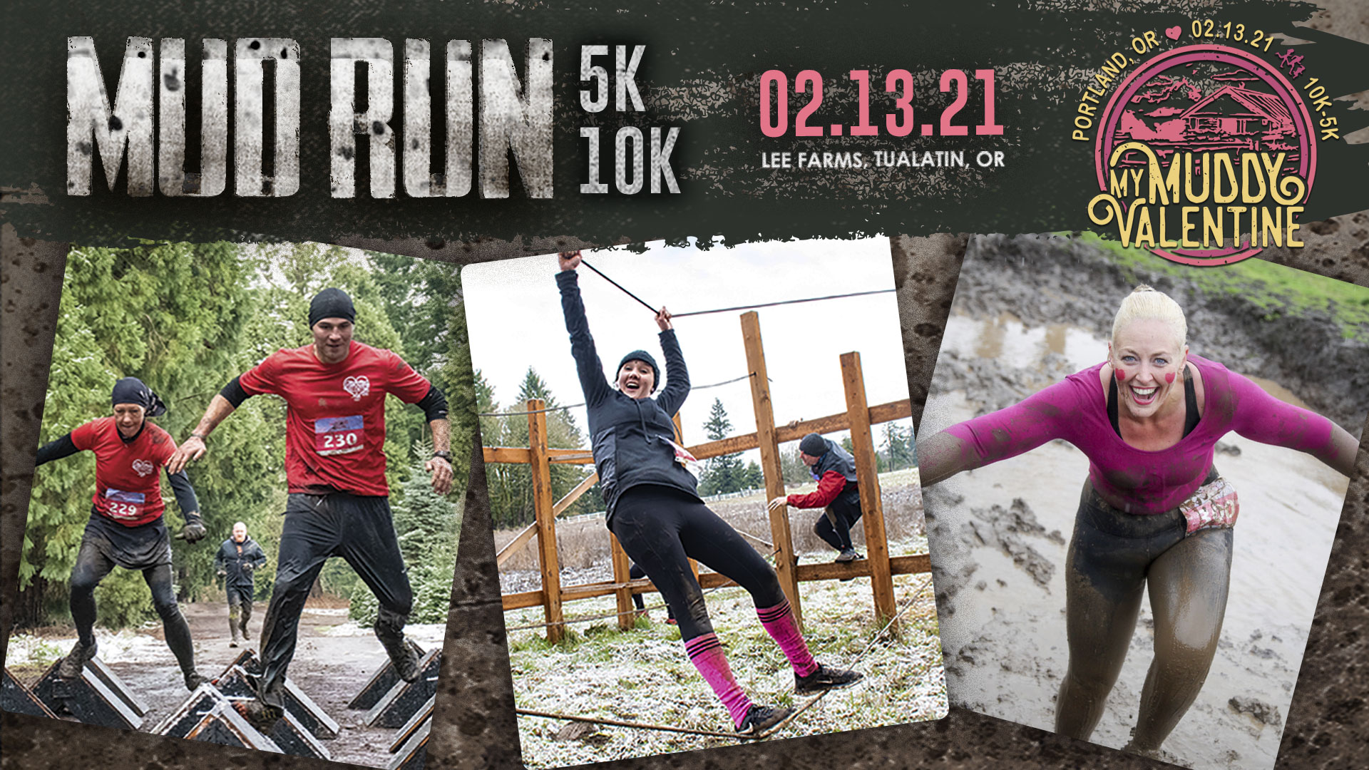 My Muddy Valentine mud run
